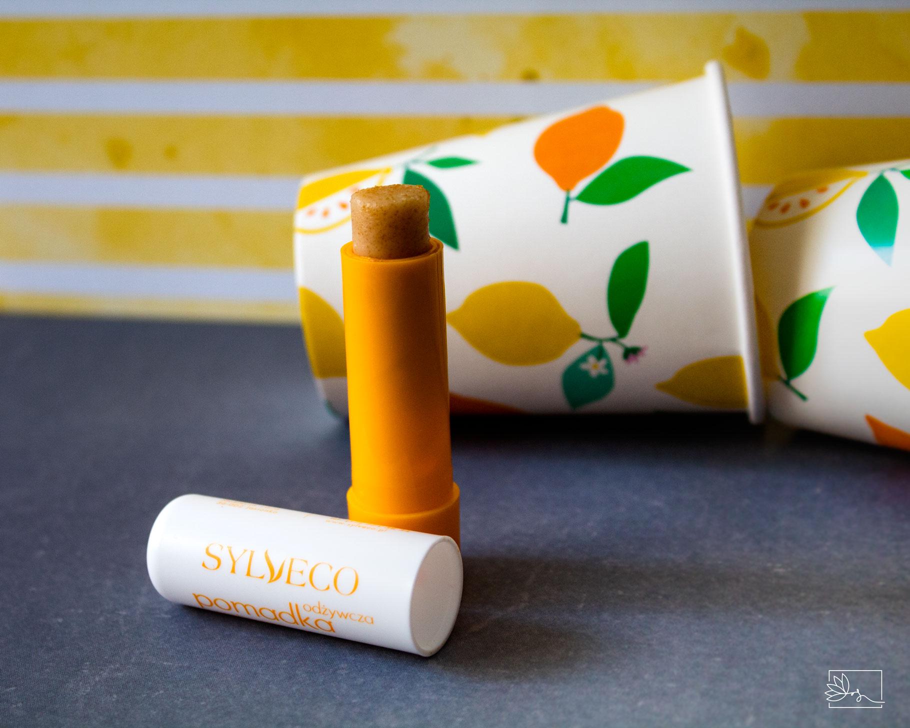 Sylveco, Odżywcza pomadka z peelingiem