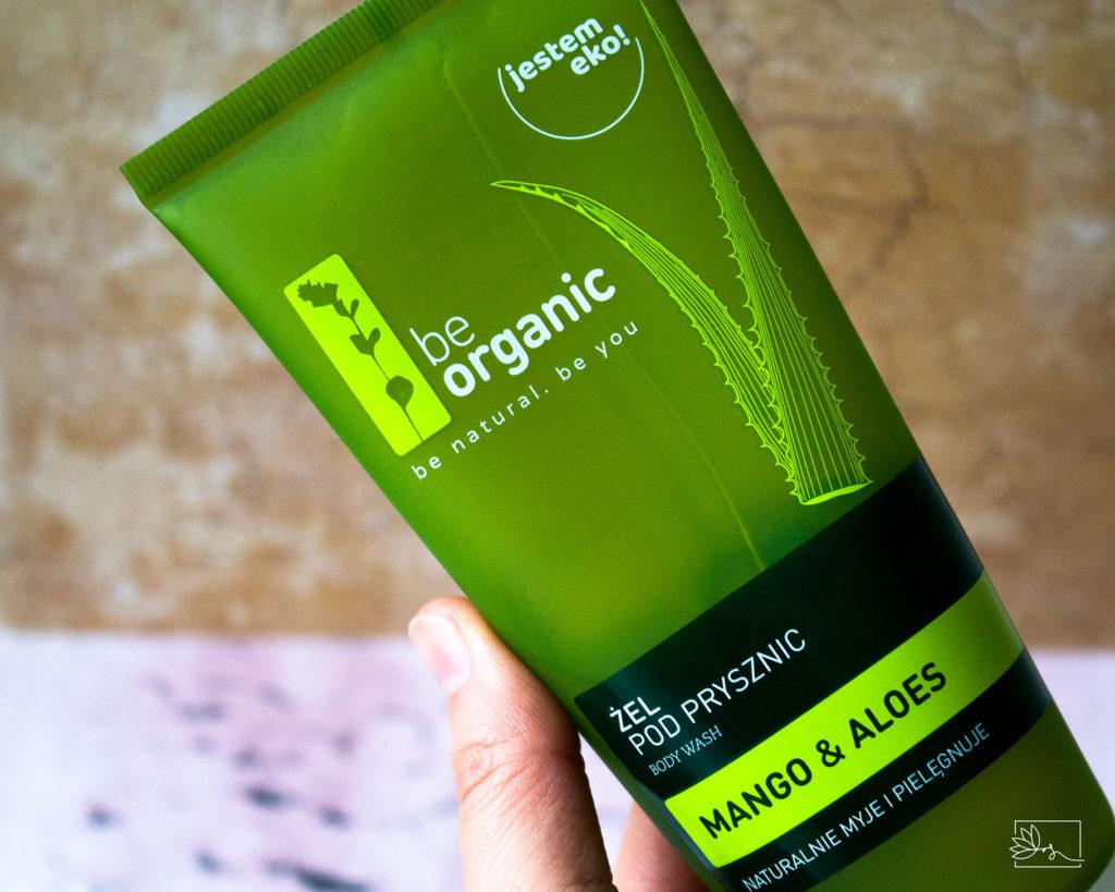 Be Organic żel pod prysznic Mango & Aloes