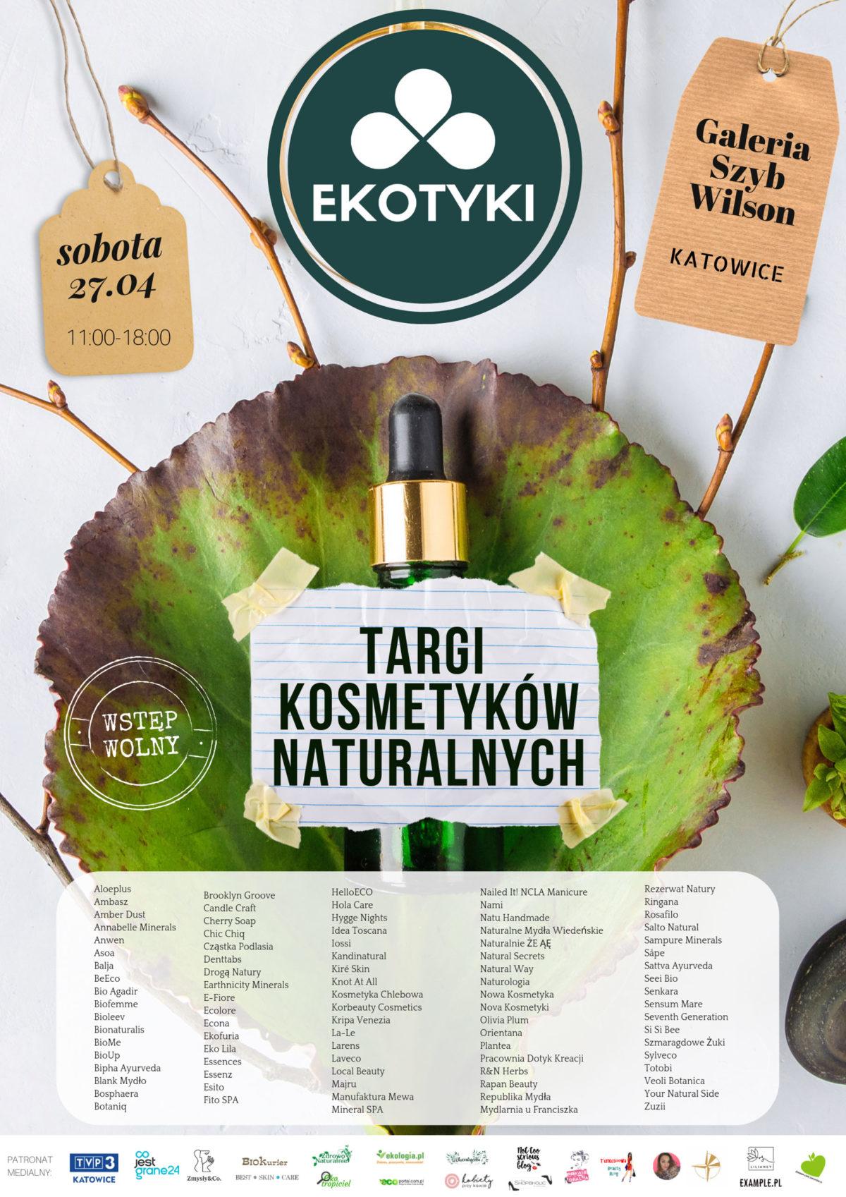 Ekotyki Katowice 27.04 – wystawcy