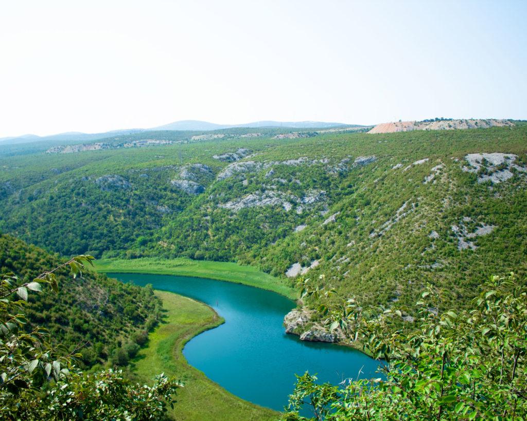 Kanjon Zrmanja Chorwacja